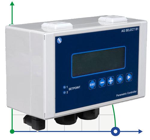 Анализатор жидкости рН или RedOx (ОВП) или CL (ppm) AG-SELECT B1
