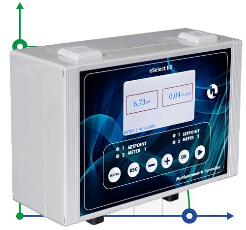 Анализатор жидкости рН / RedOx (ОВП) / CL (ppm) eSELECT B2