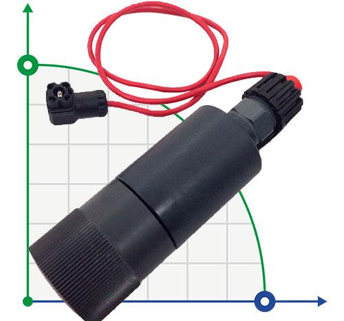 Датчик выходного потока жидкости PVC для насосов 30-50-80 л/час