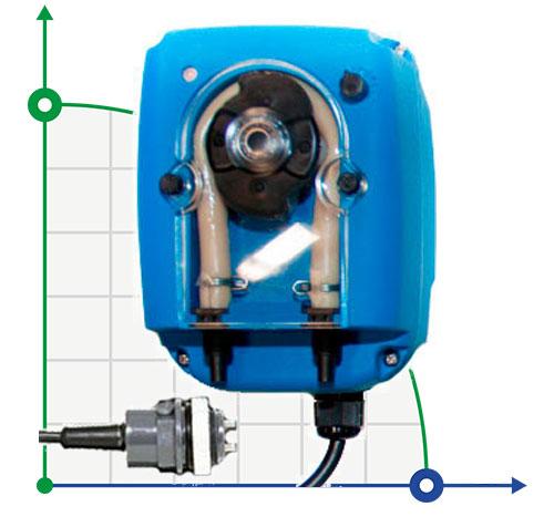 Перистальтический насос B-FCD с датчиком электропроводности