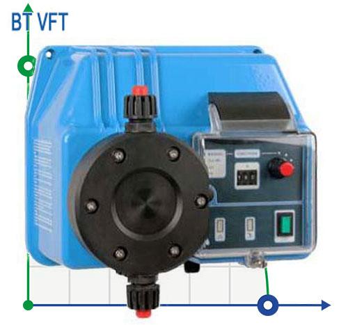 Пропорциональный насос BT VFT, работающий от расходомера