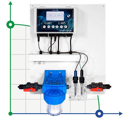 Система регулирования и контроля уровня pH