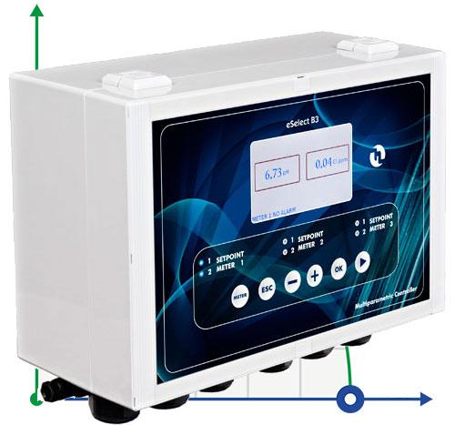 Электронный анализатор воды eSELECT B3 уровня рН / Rx / CL